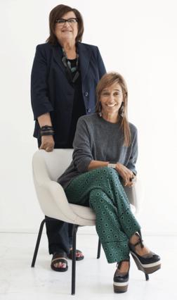 Η Consuelo Castiglioni και  η Margareta van den Bosch