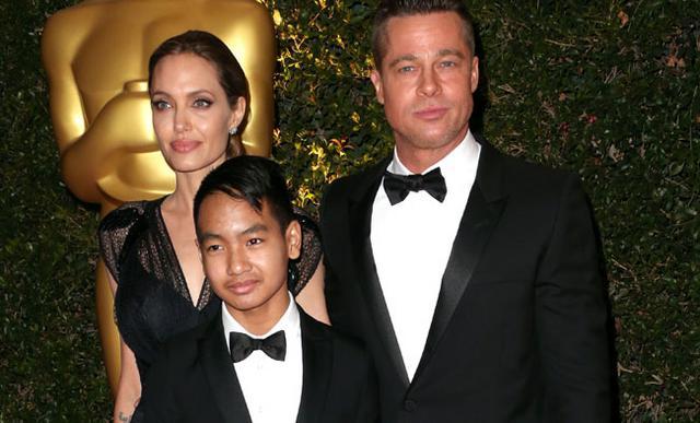 <p>Ο Maddox με τους γονείς του το 2013. Από τότε, πολλά έχουν αλλάξει</p>