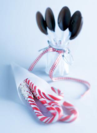 Κουταλάκια από σοκολάτα