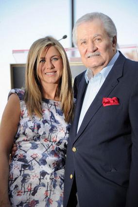 Η Τζένιφερ με τον πατέρα της, Τζον.