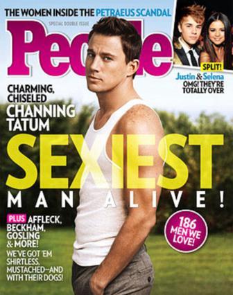 Το περιοδικό  People  απεφάνθη: ο Τσάνινγκ Τέιτουμ είναι ο πιο σέξι άντρας στον κόσμο