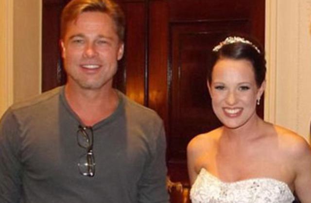 Ο Μπραντ έκανε μια νύφη ευτυχισμένη -αλλά ποια;