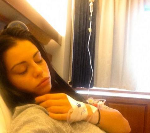 Στο νοσοκομείο με φρικτούς πόνους η Αλεξανδράκη