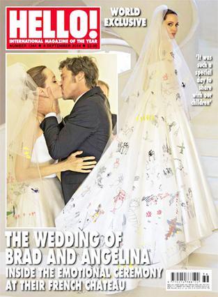 Δες την Αντζελίνα νύφη και το πρώτο φιλί