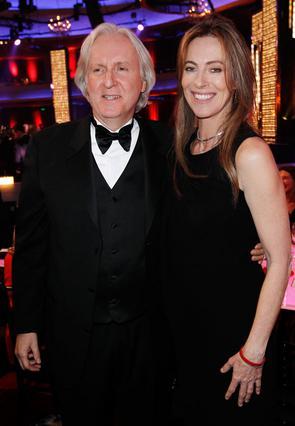 Οι δύο σκηνοθέτες και πρώην  σύζυγοι σε πιο χαλαρές στιγμές.