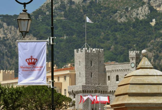 Το Μονακό στολίστηκε για το  γάμο του πρίγκιπα!