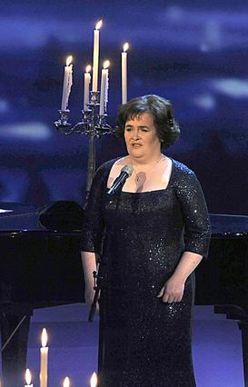 Η Σούζαν τραγουδά ζωντανά  σε εκπομπή της Γερμανικής  τηλεόρασης, αφιερωμένη στους   Ανθρώπους του 2009 .