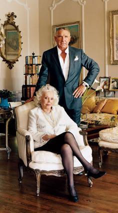 Η Ζα Ζα Γκαμπόρ με τον εδώ και 24 χρόνια σύζυγό της Φρέντερικ Πρινζ  φον Άνχαλτ σε παλιότερη φωτογραφία.