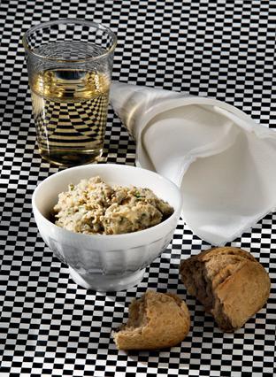 Μελιτζανοσαλάτα με σουσάμι