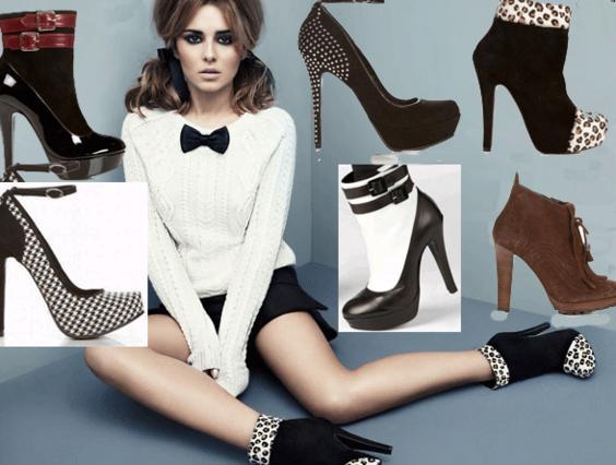 Η συλλογή παπουτσιών της Σέριλ  είνα γεμάτη ψηλοτάκουνα