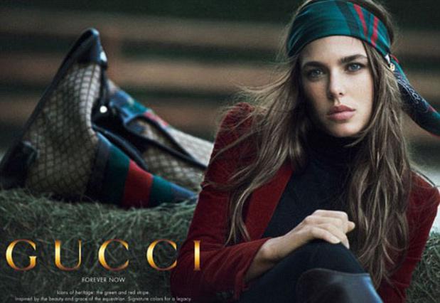 Εντυπωσιακή στη νέα καμπάνια της Gucci η Σαρλότ Κασιράγκι