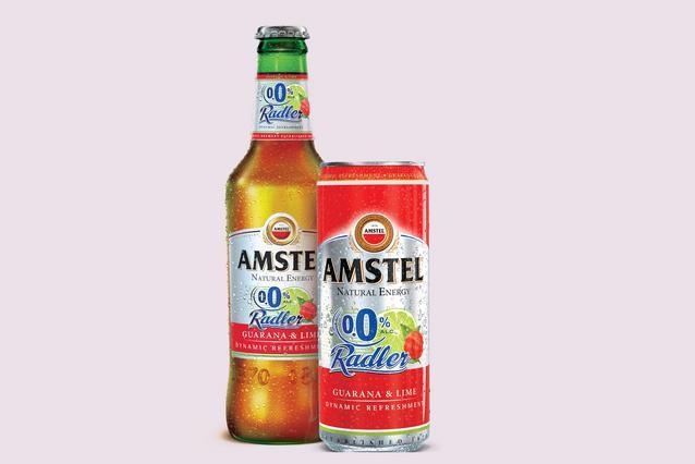Νέα Amstel Radler Guarana με 0,0% αλκοόλ