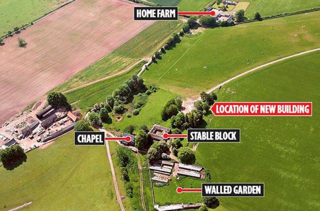 Το Harewood Park Estate όπου αναμένεται να μετακομήσουν μετά τον γάμο  ο Γουίλιαμ με την Κέιτ.