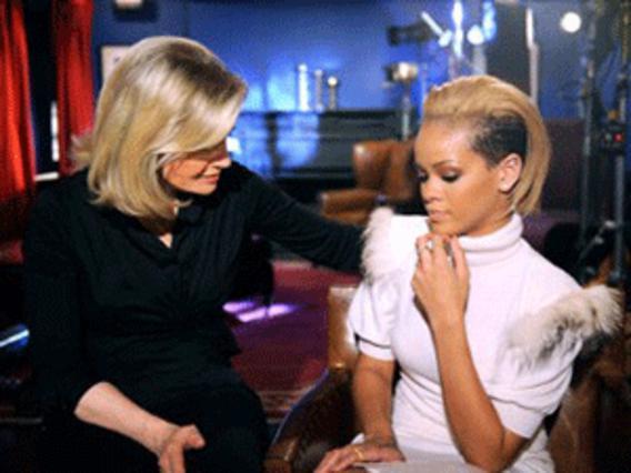 Σε δύο μέρη θα μεταδοθεί η συνέντευξη  της Ριάνα στην Ντιάν Σόγιερ