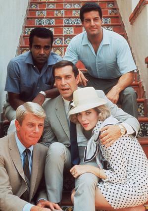 Το αρχικό καστ των τηλεοπτικών   Επικίνδυνων Αποστολών  σε απαρτία.