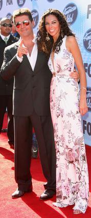 Ο Σάιμον Κάουελ και η πρώην  αγαπημένη του, Τέρι Σέιμουρ.