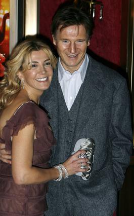 Η Νατάσα Ρίτσαρντσον με τον άντρα της, Λίαμ Νίσον. Αν πήγαινε εγκαίρως στο νοσοκομείο θα είχε σωθεί.