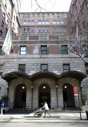 Το νοσοκομείο Λένοξ Χιλ της Νέας Υόρκης όπου μεταφέρθηκε η άτυχη ηθοποιός.