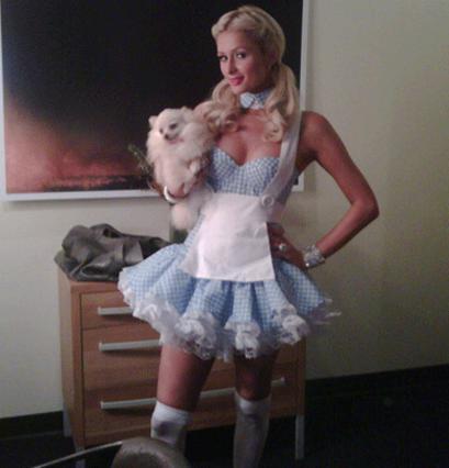 Μία από τις φωτογραφίες που ανέβασε  η Πάρις στο προφίλ της στο Twitter!