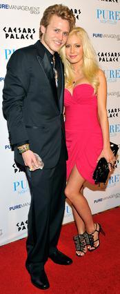 Η Χάιντι με τον σύζυγό της,  Σπένσερ Πρατ.