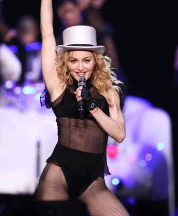 Η Μαντόνα σκίζει στο τραγούδι αλλά όχι και στους τρόπους συμπεριφοράς