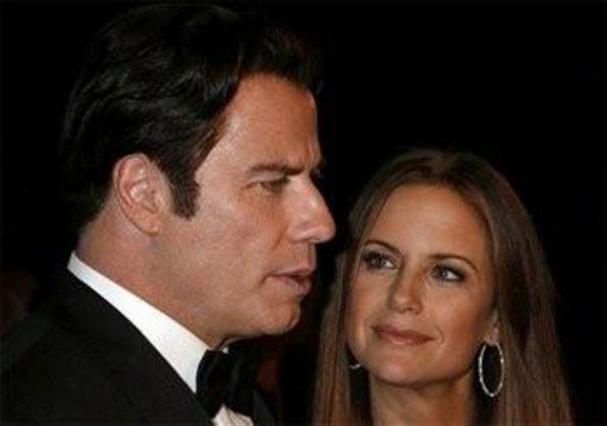 Ο Τζον Τραβόλτα και η σύζυγός του, Κέλυ Πρέστον το 2007.
