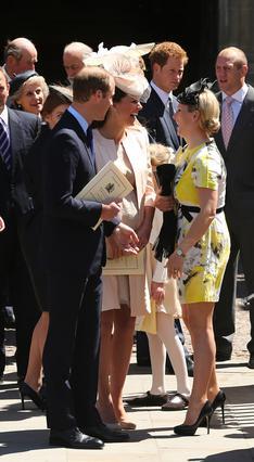 Η Ζάρα Φίλιπς, ξαδέλφη του πρίγκιπα Γουίλιαμ, έχει άριστες σχέσεις με το πριγκιπικό ζεύγος, ενώ πρόσφατα έγινε και εκείνη μανούλα.