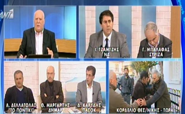 Παπαδάκης: Πρωτοφανές επεισόδιο στον «αέρα» της εκπομπής