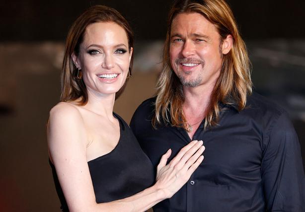 Η Τζολί και ο Πιτ στην πρεμιέρα της νέας ταινίας του ταινίας World War Z, στο Τόκυο στις 29 Ιουλίου.