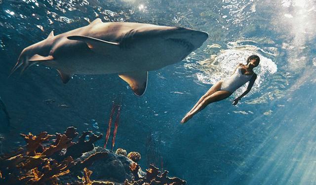 Έριξαν τη Ριάνα στους... καρχαρίες [βίντεο]