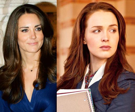 Η Κέιτ και η άλλη, η ηθοποιός που την υποδύεται στην ταινία που περιγράφει το βασιλικό ειδύλλιο!