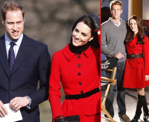 Αριστερά, το βασιλικό ζεύγος και δεξιά θα δεις τους κινηματογραφικούς σωσίες του!