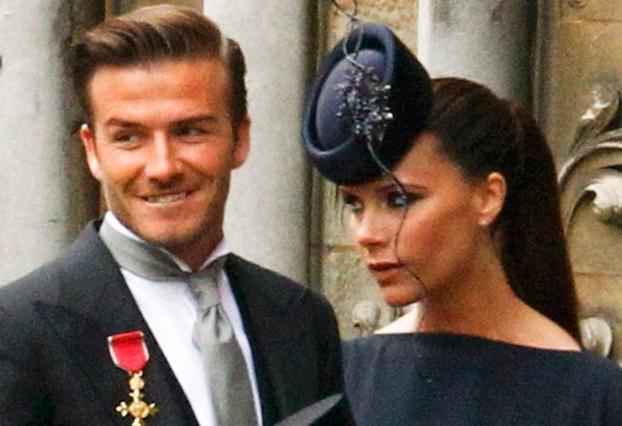 Διαψεύδουν ότι παραπονέθηκαν για τις θέσεις τους στον πριγκιπικό γάμο οι Μπέκαμ
