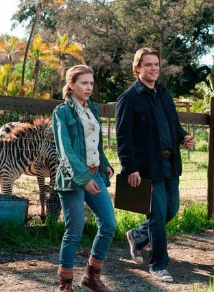 Η Σκάρλετ Γίόχανσον και ο Ματ Ντέιμον σε σκηνή της ταινίας  We bought a zoo