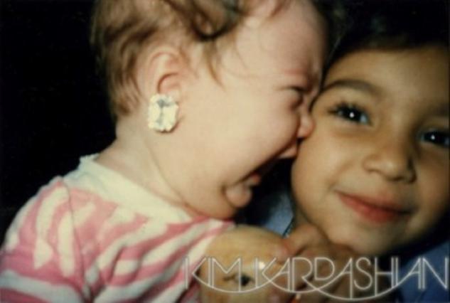 Η Κιμ Καρντάσιαν με η μικρή -και κλαψιάρα τότε- Κλοέ