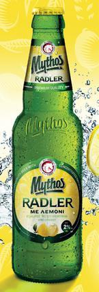 Νέoς Mythos Radler με λεμόνι