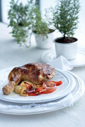Κοτόπουλο με γιαούρτι στον φούρνο