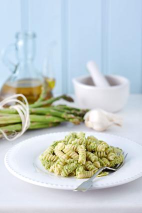 Βίδες με Pesto από Σπαράγγια