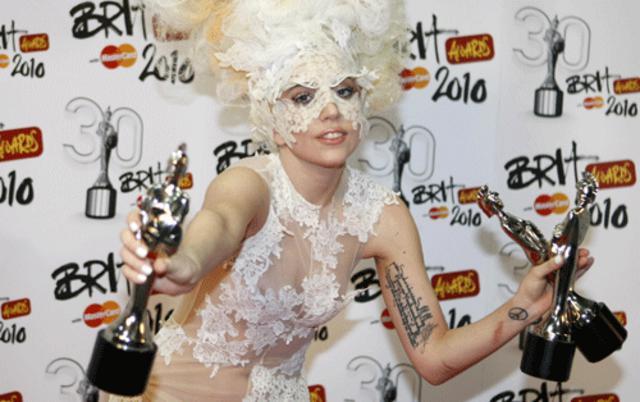 3 βραβεία κέρδισε η Lady Gaga στα Brit Awards
