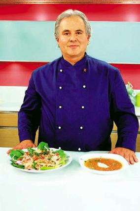 Ο σεφ Τόνι Καβαλιέρο αποκαλύπτεται