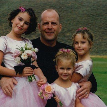 Μπρους Γουίλις: Λιώσαμε από τις ευχές της τέταρτης κόρης στην πρώτη (vds)