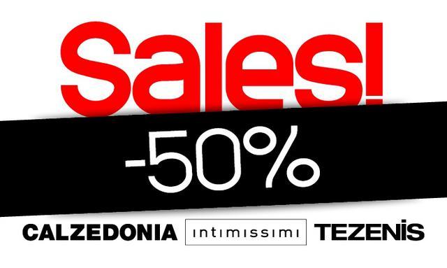 Calzedonia, Intimissimi και Tezenis με έκπτωση -50%