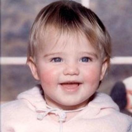 Ποιο διάσημο τοπ μόντελ είναι το γλυκό αυτό κοριτσάκι;