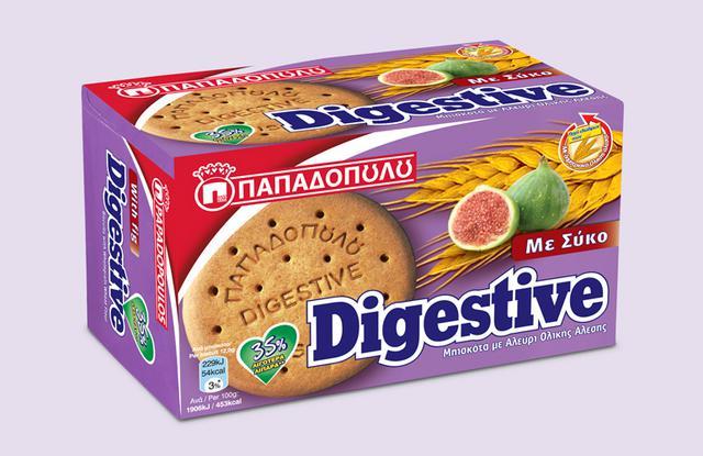 Νέα Digestive Παπαδοπούλου με σύκο