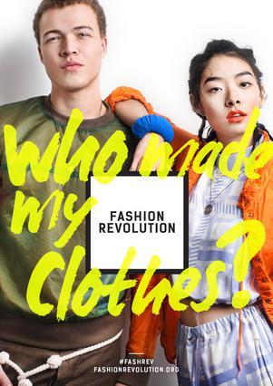 Η επανάσταση στη βιομηχανία της μόδας έρχεται στις 24 Απριλίου.