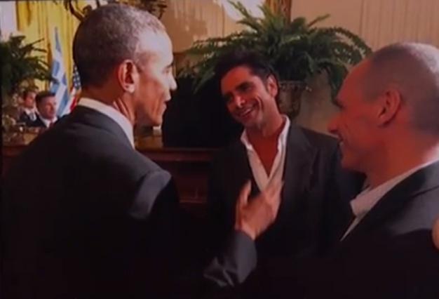 Ομπάμα, Βαρουφάκης, Στάμος: Το παρασκήνιο μιας συνάντησης (φωτό+vds)