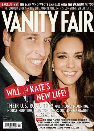 Μια φωτογραφία που δεν είχε δημοσιευτεί ξανά κοσμεί το εξώφυλλο του περιοδικού Vanity Fair για τον Ιούλιο. Ο Γουίλιαμ και η Κέιτ του, δια χειρός Μάριο Τεστίνο.