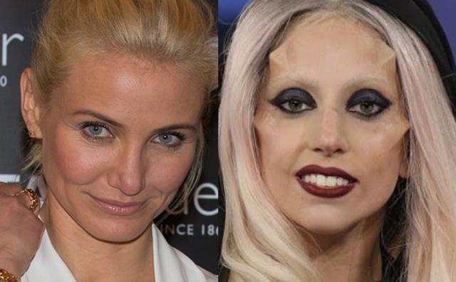 Σφάζονται στα πόδια του Τέιλορ η Κάμερον Ντίαζ και η Lady Gaga