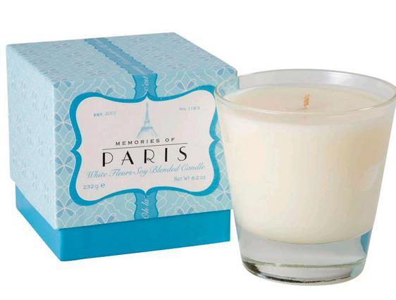 Και κερί και Λοσιόν με άρωμα από Παρίσι!