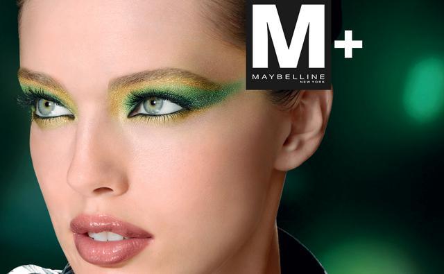Μ+ σημαίνει Make Up and More από την Maybelline New York